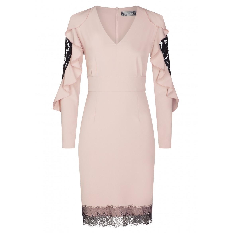 Verführerisches Kleid JOHANNA mit eleganter Spitze