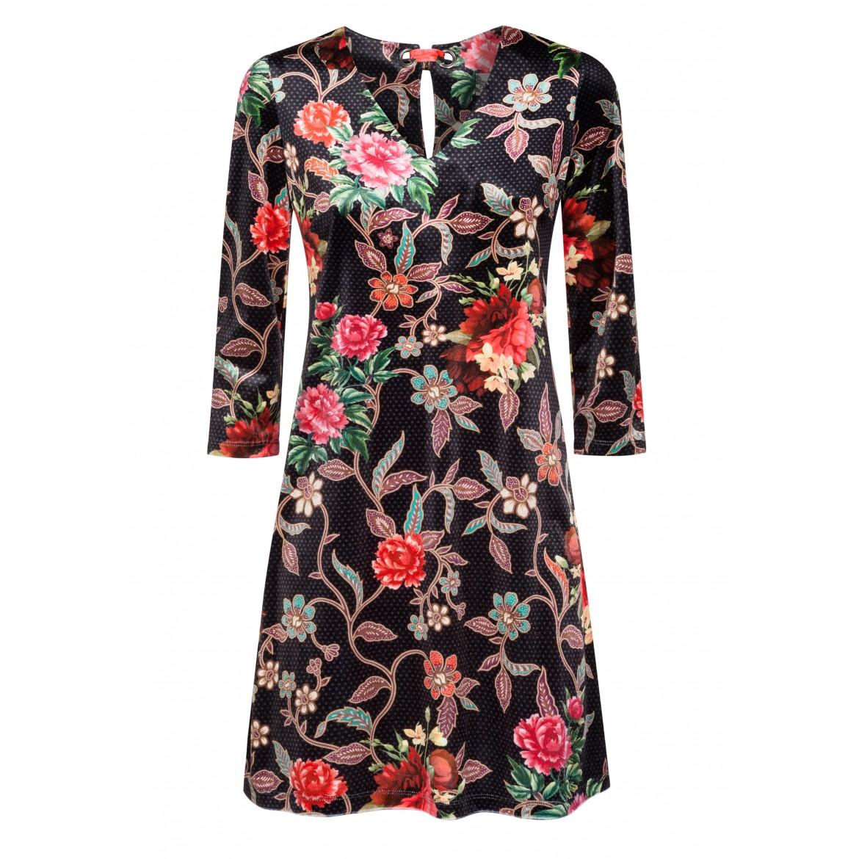 Elegantes Kleid MILENA mit bezauberndem Blumenm...