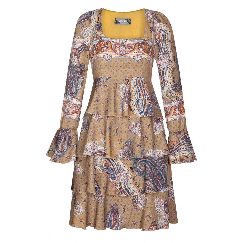 Bezauberndes Kleid HELENA mit eleganten Volants