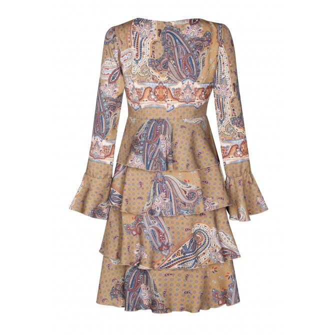 Bezauberndes Kleid HELENA mit eleganten Volants /