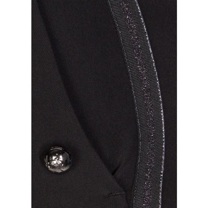 Stilvolle Hose MARLENE mit edel changierenden Details /
