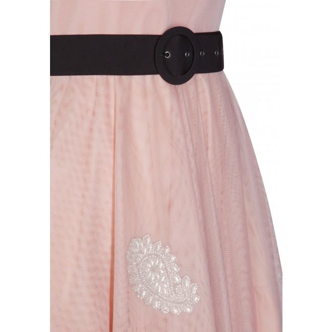 Elegantes Kleid ALUNCY mit stilvollen Details /