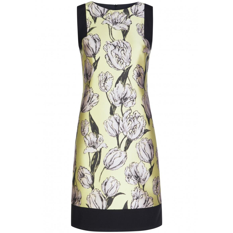 Elegantes Kleid PAULA mit femininem Blumen-Muster
