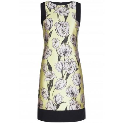 Elegantes Kleid PAULA mit femininem Blumen-Muster /