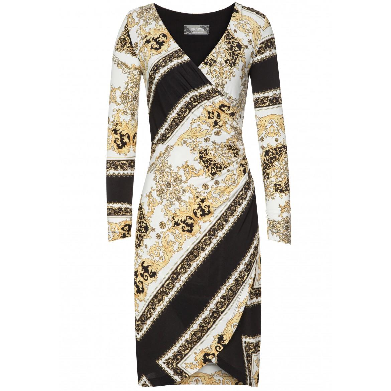 Edles Kleid MAYA mit stilvollem Allover-Muster