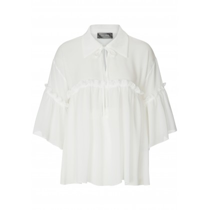 Charming JULE blouse with stylish frill details /