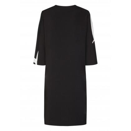 Elegant coat AURELIA with stylish all-over pattern /