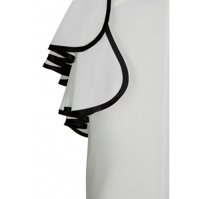 Edles Top SELINA mit modischem One-Shoulder Träger /