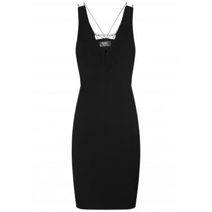 Feminines Kleid KLARA mit verführerischen Details /