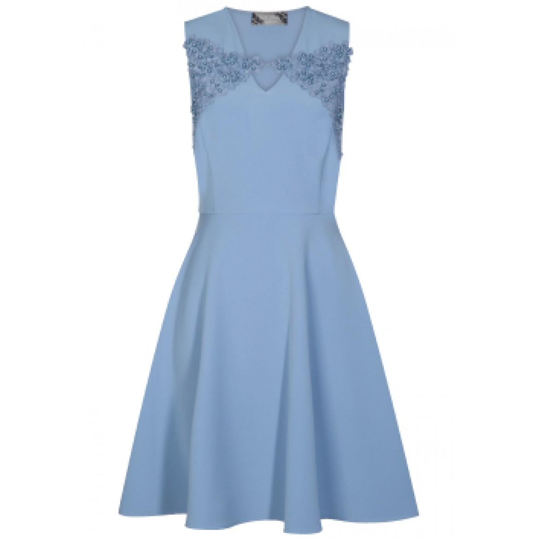 Edles Kleid PERSIA mit modischen Stickereien