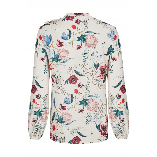 NICOWA – Bluse OTILDE mit floralem Muster /