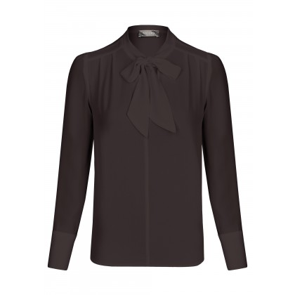 NICOWA - Airy blouse NELSA with a tasteful bow /