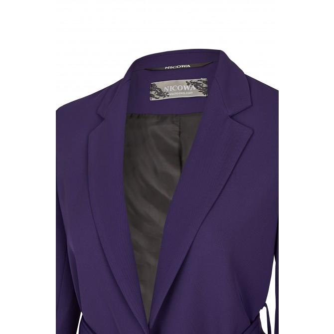 NICOWA – Eleganter Blazer OSTANA mit Bindegürtel /