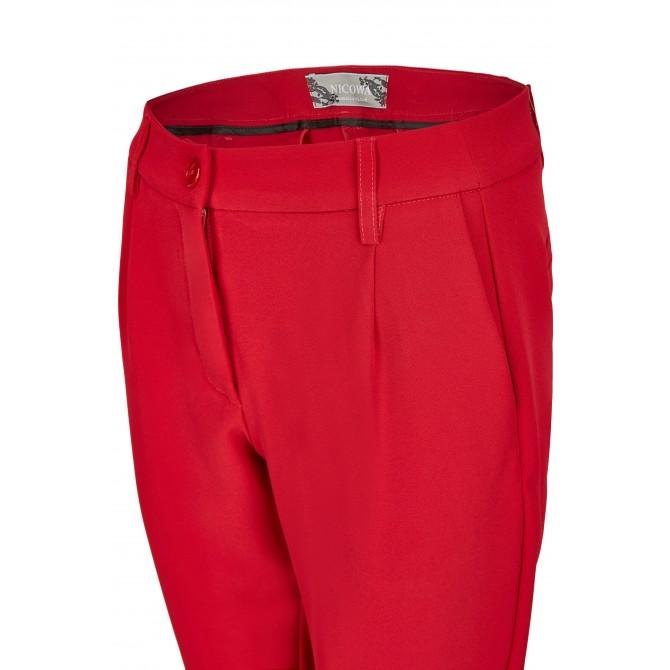 NICOWA – Elegante Hose AGIADA mit zulaufendem Bein /
