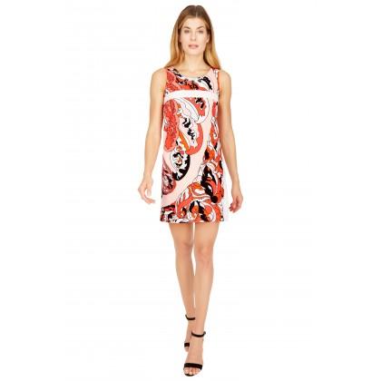 NICOWA – Edles Kleid ONIJOLE mit ausdrucksvollem Muster /