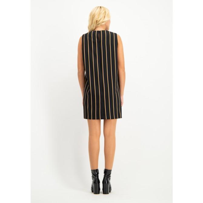Stilvolles Kleid AFIORENTE in modernem Streifen-Look /