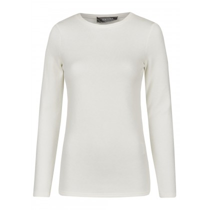 Sweater with a hint of luxurious cashmere – BASINA /