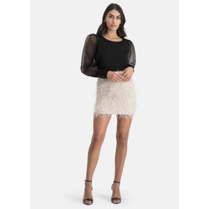 Plain satin blouse – WALATA /