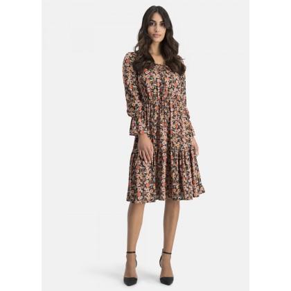 Kleid mit Allover-Blumenmuster – COMANA /